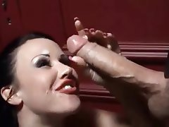 Sperma v obličeji, Tvrdé sex, Latexové