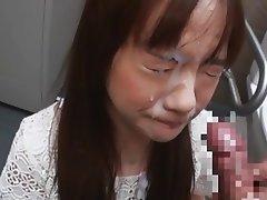 Japanese cum face