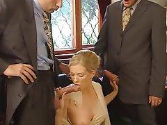 Anal, Baby, Blondine, Doppel Penetration