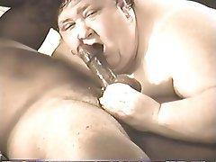 Bbw deepthroat blowjob