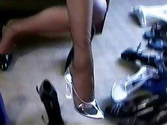 Güzel kadınlar, Ayak Fetiş, Kadın iç çamaşırı, Çorapları