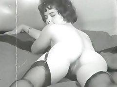 Hairy, MILF, Stockings, Vintage