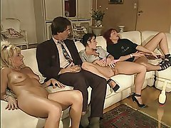 Double Penetration, Group Sex, Hairy, MILF
