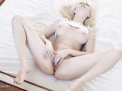 Big Tits, Panties, Masturbation, Solo