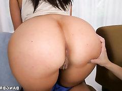 Big Ass, Blowjob, Cumshot, Handjob