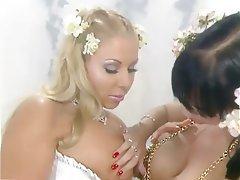 Babe, Big Boobs, Blonde, Lesbian