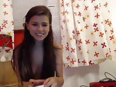 Amateur, Brunette, Webcam