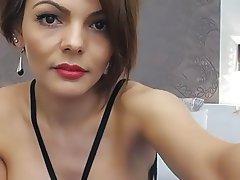Brunette, Nipples, Webcam