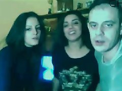 Amateur, Spanish, Threesome, Webcam