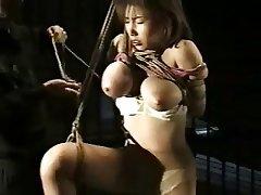 BDSM, Grands seins, Esclavage, Japonaise