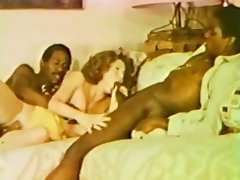 Blow interracial job retro