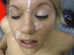 Blowjob, Bukkake, Cheerleader, Facial