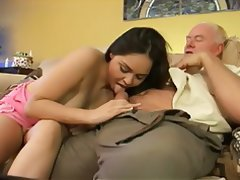 Babysitter, Blowjob, Old and Young