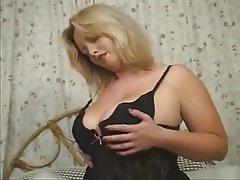 Big Boobs, Blonde, British, Masturbation