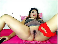 BBW, Big Boobs, Hairy, Thai