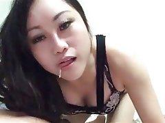 Amateur, Asian, Big Boobs, Blowjob