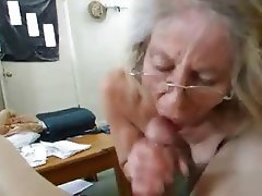 Amateur, Blowjob, Granny, Mature