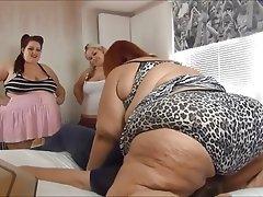 Donne ciccione, Affrontare Seduta