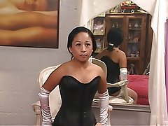 MILF, Brunette, Lingerie, Asian