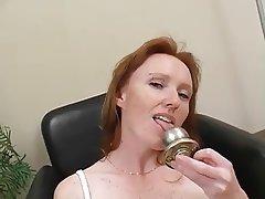 Masturbation, Mature, Redhead, Softcore