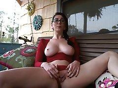 Masturbation, Brunette, Webcam