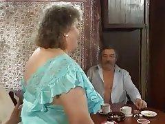 Grosses, Grandmere, Sexe en groupe, Agé