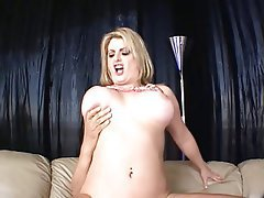 Blowjob, Big Boobs, Blonde, MILF