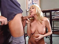 Blowjob, Blonde, Facial