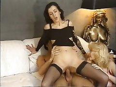 Anal, Mature, Double Penetration, Group Sex