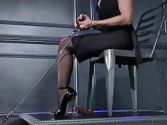 Donna dominante, Feticismo del piede, Collant, POV