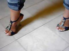Reifen, Fuß Fetisch