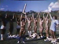Brasilianisch, Gruppensex, Behaart, Jahrgang