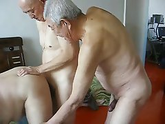 Big Boobs, Chinese, Granny, Group Sex