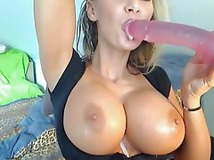 Amateur, Grosse Boobs, Blondine, Netznocken