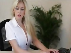 Big Boobs, Blonde, Pornstar, POV