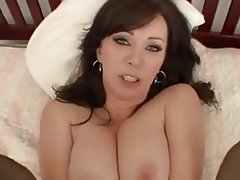 Big Boobs, Brunette, Creampie, Mature