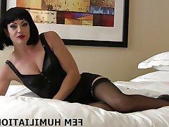 BDSM, Bisexuel, Femme dominatrice, Lingerie