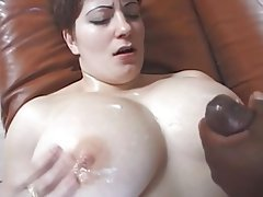 Big Boobs, Interracial