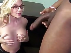 Jacking off black stepdaddys big black cock
