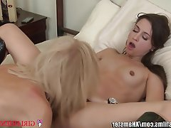 Cunnilingus, Lesbian, MILF, Old and Young