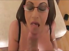 Babe, Big Boobs, Blowjob, Brunette