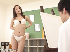 Asian, Babe, Masturbation, Solo
