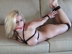 Anal, BDSM, Rubias, Bondage