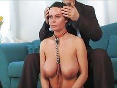 BDSM, Grosse Boobs, Knechtschaft, Unterwäsche