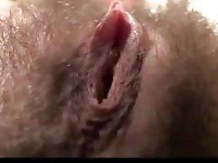 Babe, Hairy, Masturbation, Orgasm